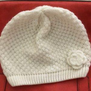 The Loft Women's off white knitted beanie